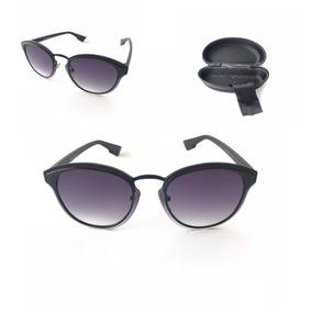 d318d63c4 Oculos De Sol Masculino Feminino Unisex Redondo Retro Aviado