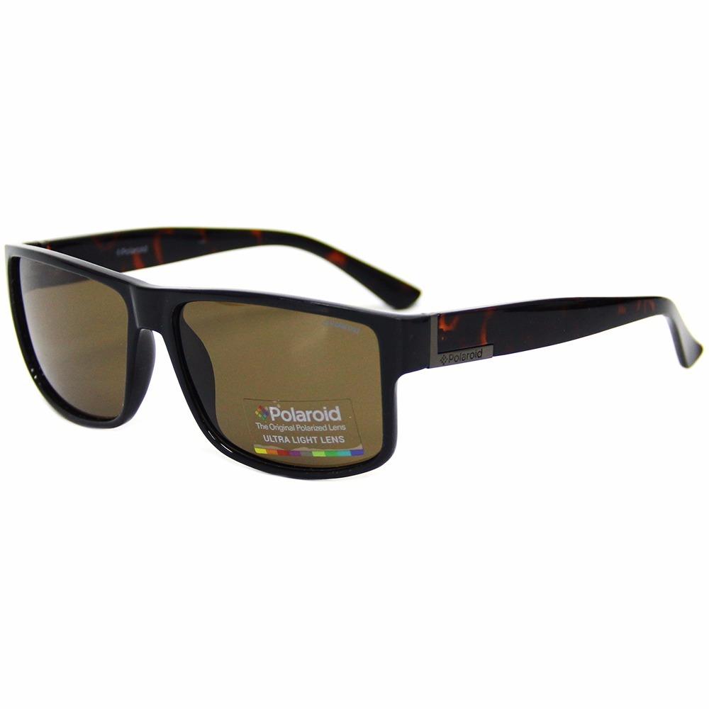 Óculos De Sol Masculino Grande Polaroid 2030 Promoção - R  179,75 em ... 43ef926883
