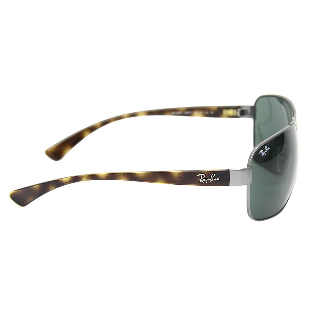 f46b91cc7e383 Óculos De Sol Masculino Grande Ray Ban 3567 - R  449,99 em Mercado Livre