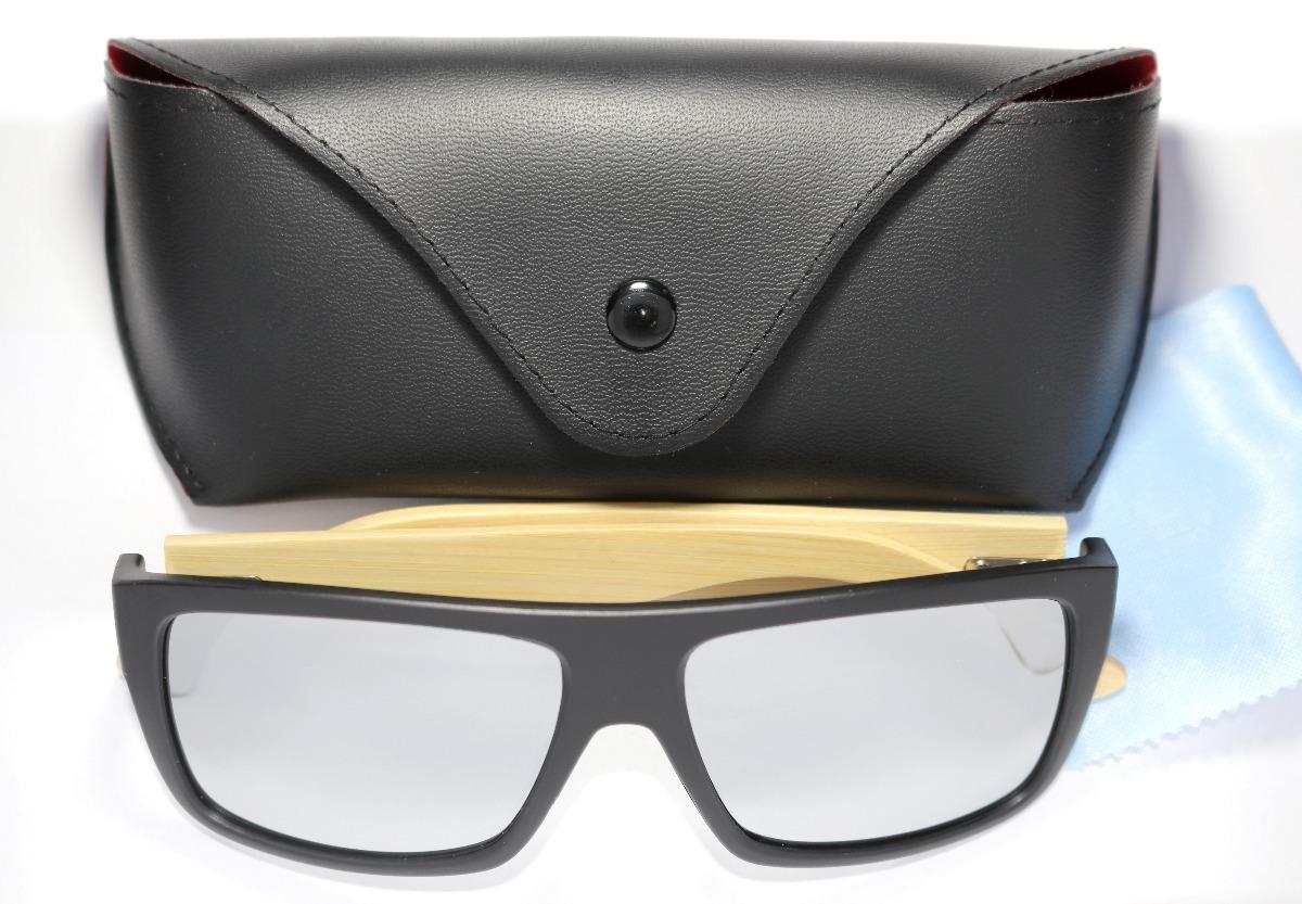 Óculos De Sol Masculino Haste Bambu Estilo Oakley Holbrook - R  49,90 em  Mercado Livre c61e8ca823