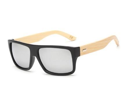 Óculos De Sol Masculino Haste Bambu Estilo Oakley Holbrook - R  49 ... fe1d0f44e5