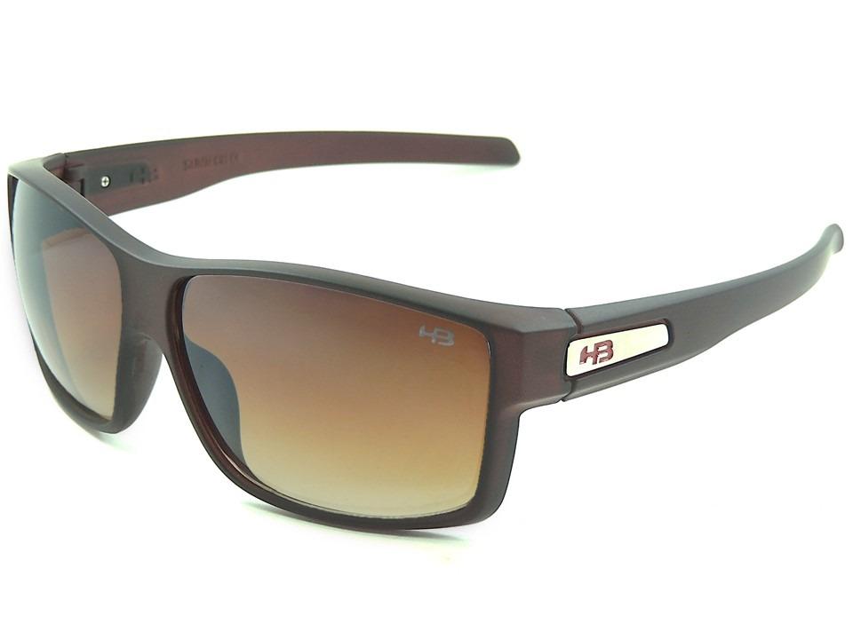 c7e499441e6cf óculos de sol masculino hb big vert marrom frete grátis. Carregando zoom.