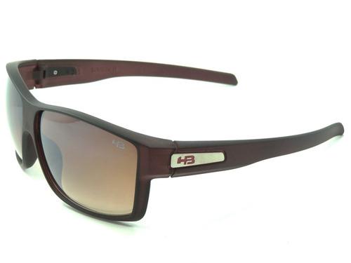 22a1cc35a30bc óculos de sol masculino hb big vert marrom proteção uv400. Carregando zoom.