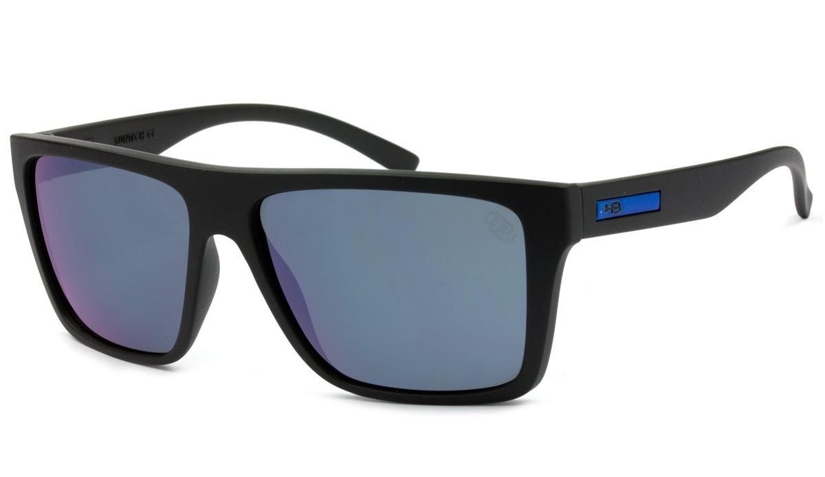 f9a521e048310 óculos de sol masculino hb floyd 90117 001 azul - original. Carregando zoom.