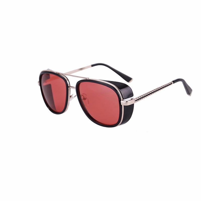 Óculos De Sol Masculino Homem De Ferro 3 Steampunk Uva E Uvb - R  60 ... 791d035ba0