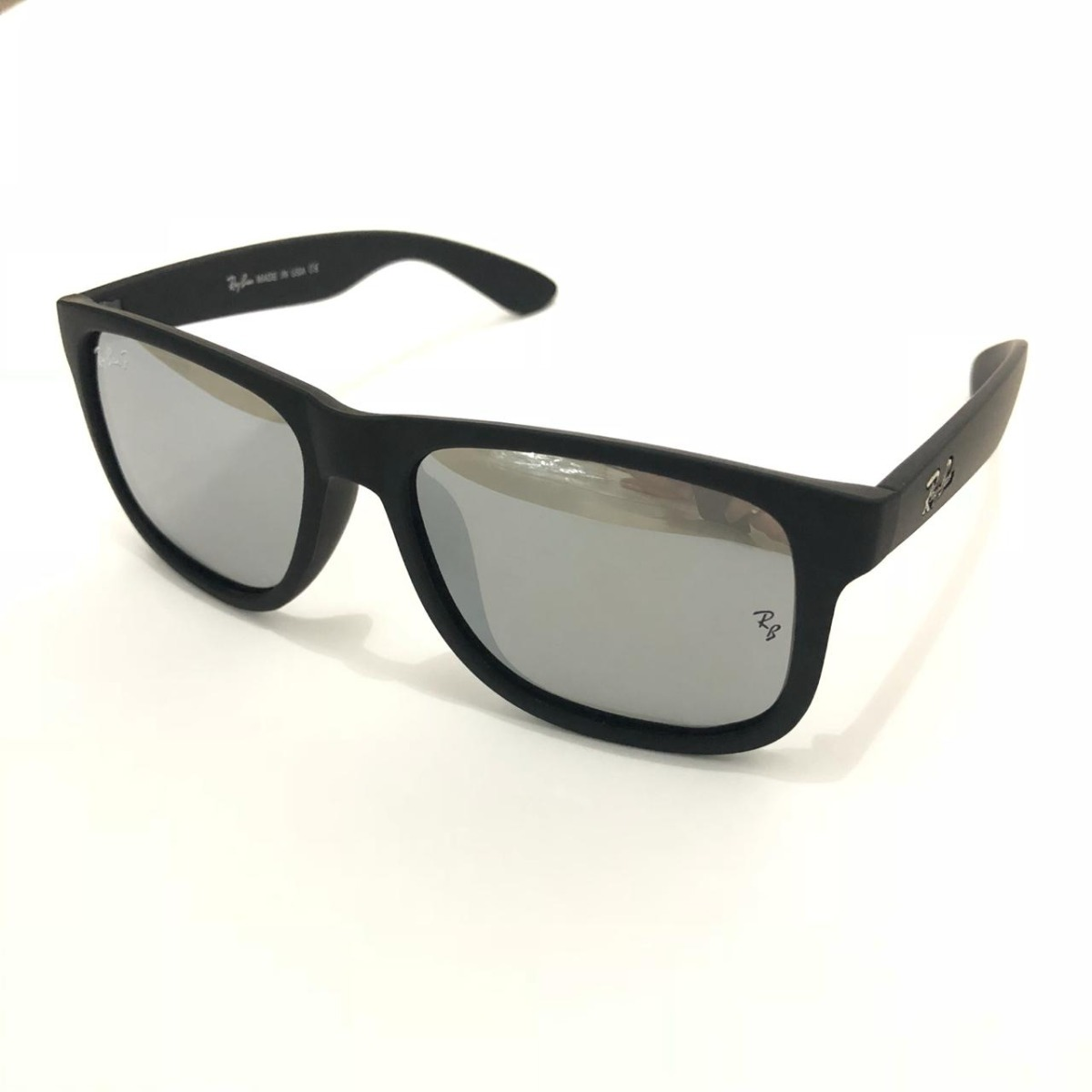 77fc01ecf16ef Óculos De Sol Masculino Justin Quadrado Polarizado Top - R  49,99 em ...