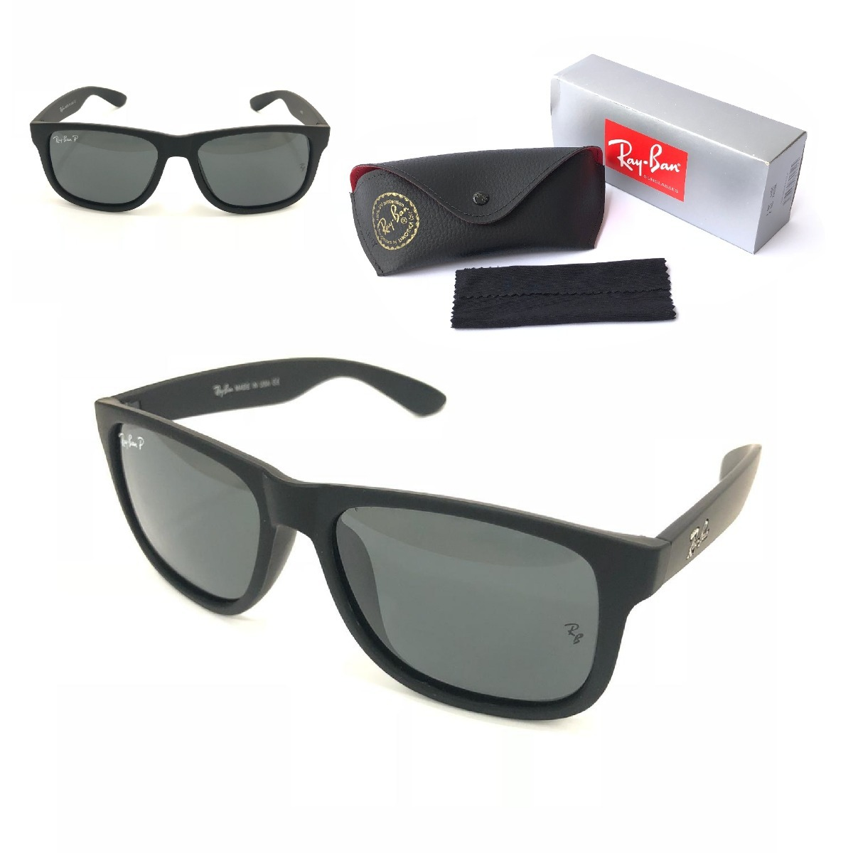 48fb06ca4a0af oculos de sol masculino justin ray ban polarizado rb4165 top. Carregando  zoom.