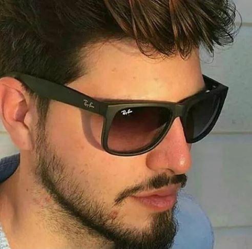 5c1dbd100 Oculos De Sol Masculino Justin Wayfarer Polarizado Espelhado - R$ 49 ...