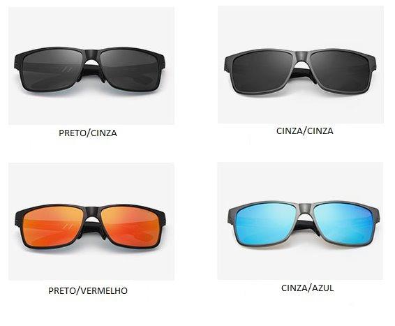 Óculos De Sol Masculino Kingseven Uv400 Polarizado Aluminio - R  100 ... a84fc9b4d3