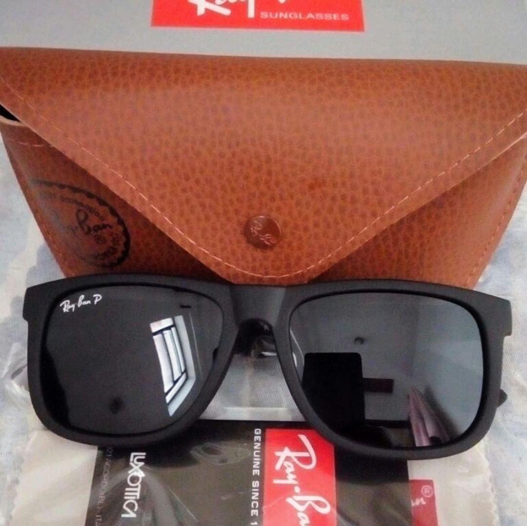 Oculos De Sol Masculino Kit Com 4 Just Quadrado Preto Barato - R ... 459f579d4d