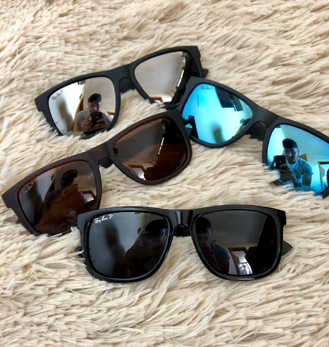 oculos de sol masculino kit com 4 just quadrado preto barato. Carregando  zoom. 2f89c667ab