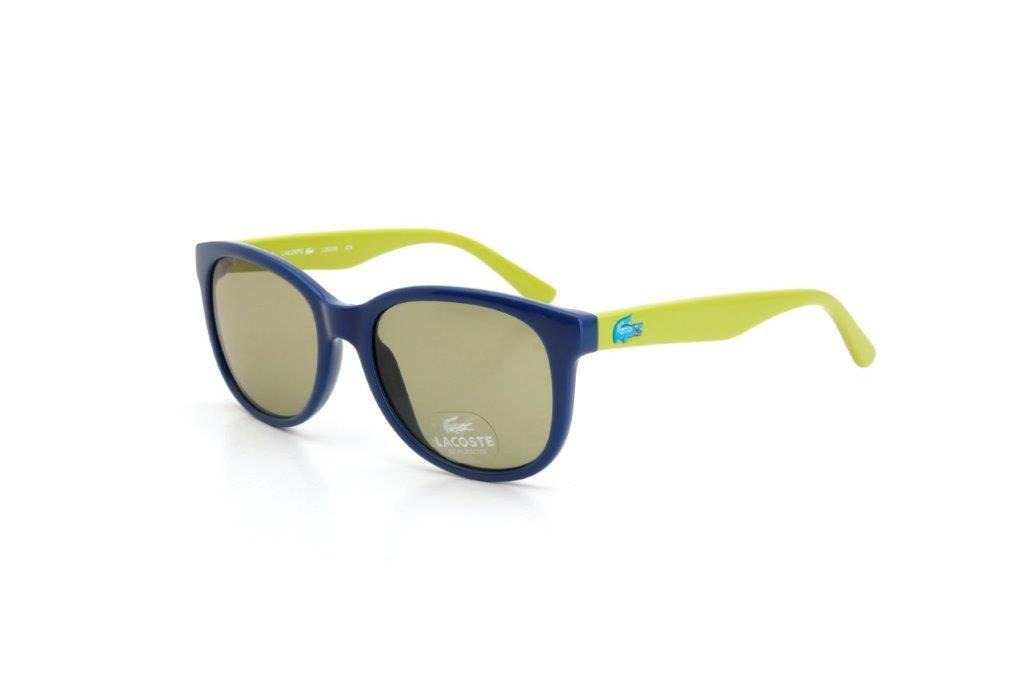 4330d7e5efd9e óculos de sol masculino lacoste proteção uv metal azul. Carregando zoom.