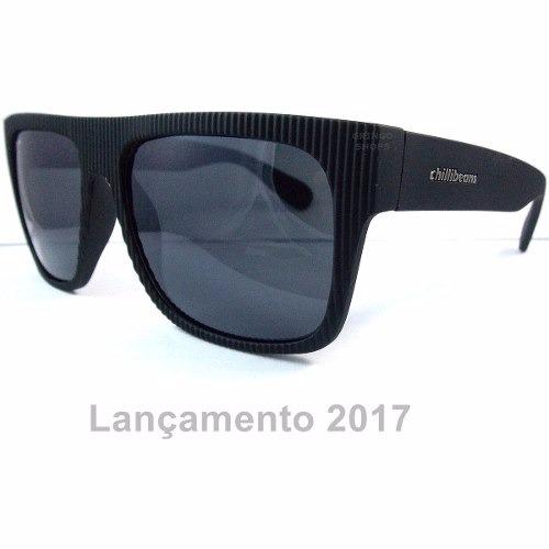 Óculos De Sol Masculino Lançamento Chilli Beans + Estojo - R  49,99 ... 2aee98417f