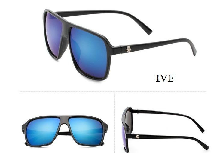 daa3b317c9c29 Óculos De Sol Masculino Lente Azul Espelhada - R  31