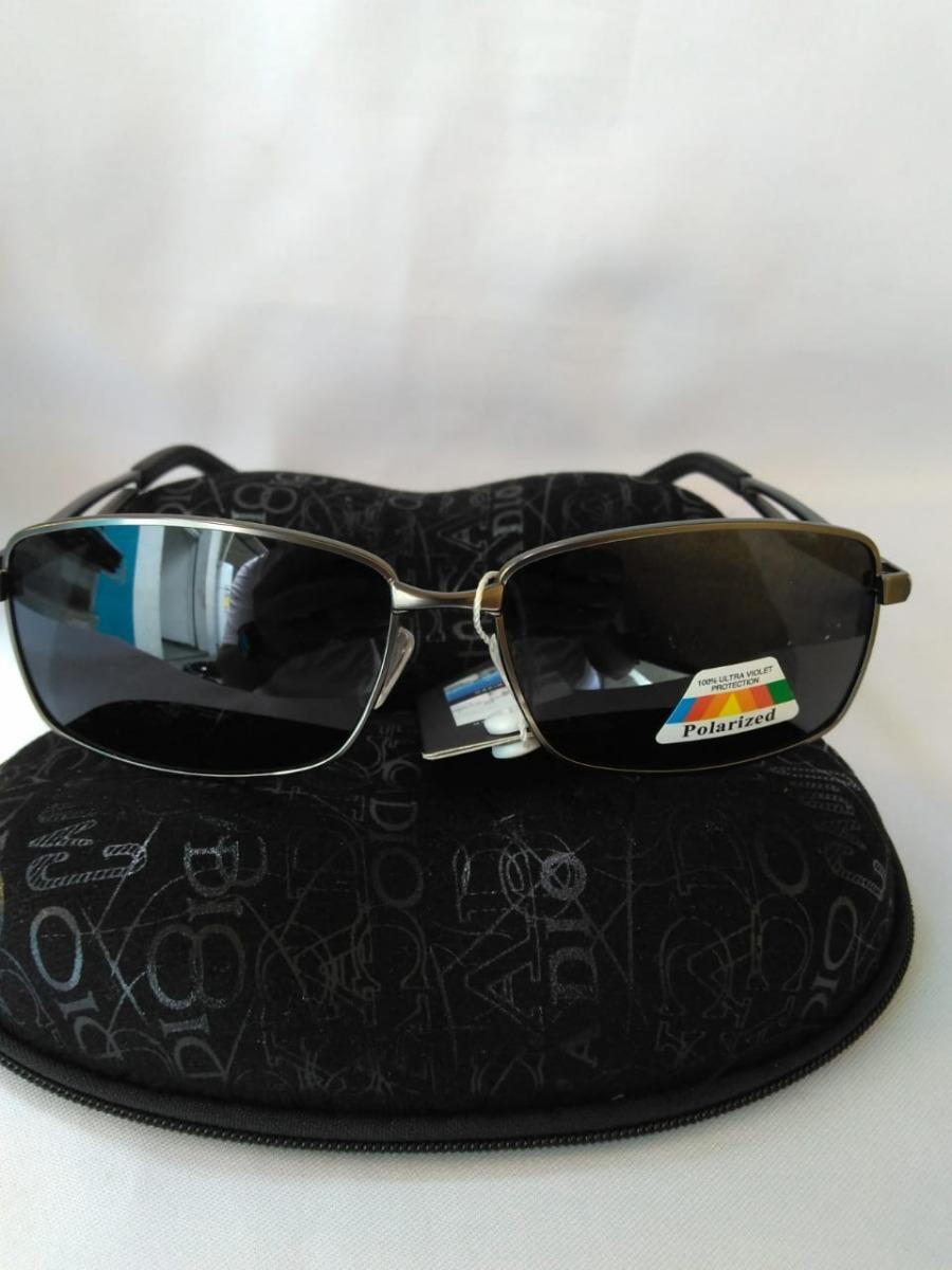 fff1a5ced027e óculos de sol masculino lente preta armação de ferro fumê. Carregando zoom.