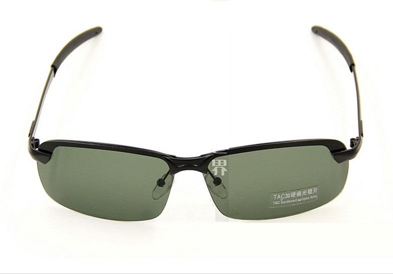 b92fffa7d Óculos De Sol Masculino Lentes Verdes Polarizado E Proteção - R$ 89 ...
