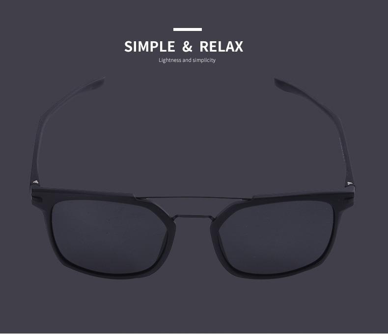 62321e5d5 Óculos De Sol Masculino Luxo Clássico Polarizados Uv400 - R$ 180,00 ...