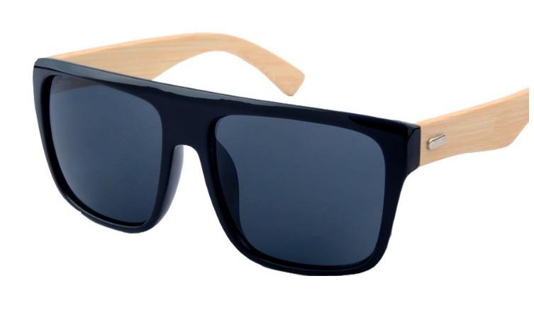 5ffda0e3d Óculos De Sol Masculino Madeira Bambú Polarizado Uv400 - R$ 49,99 em  Mercado Livre