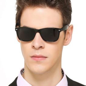 7a7ff536e Óculos De Sol Masculino Modelo Básico Preto Unissex Uv400