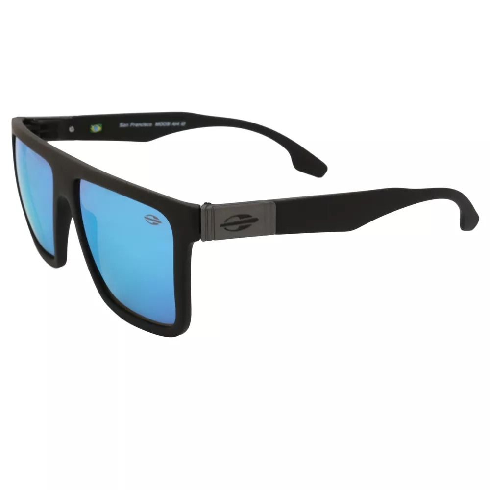 Óculos De Sol Masculino Mormaii San Francisco Preto Original - R  160,00 em  Mercado Livre 784b835886