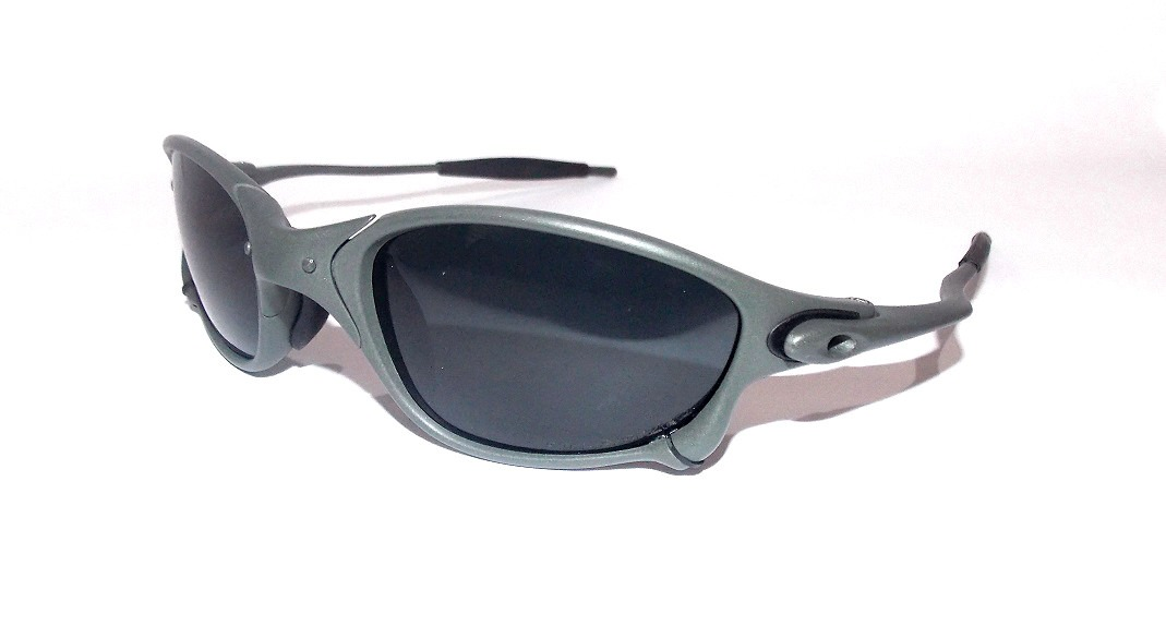 9d85a08483776 óculos de sol masculino oakley juliet x-metal cinza preto. Carregando zoom.