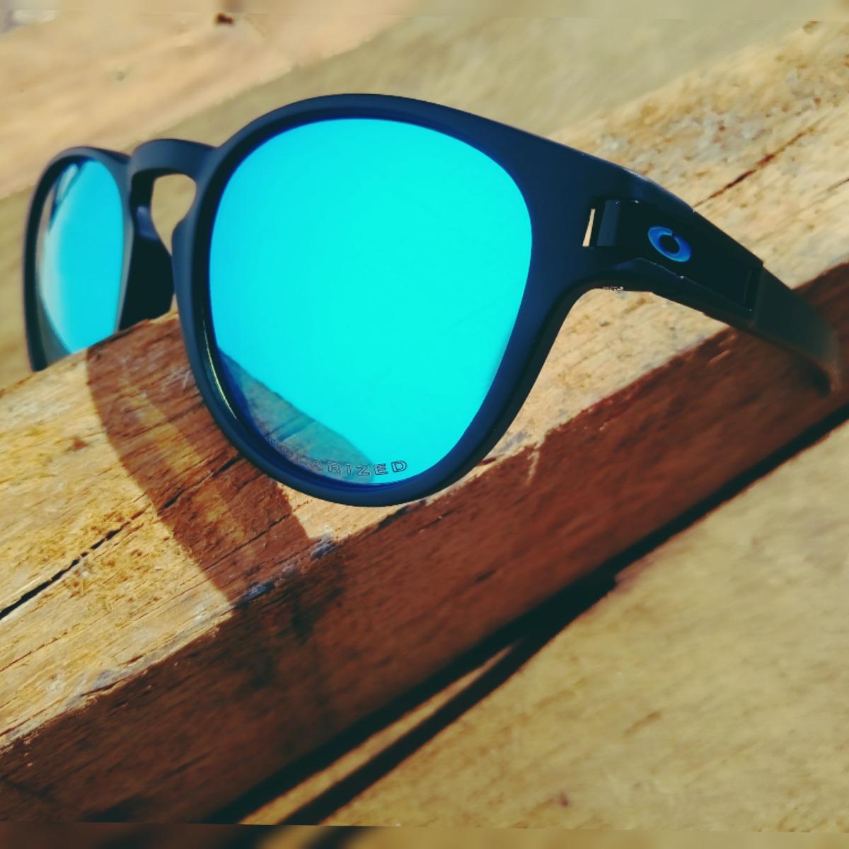 32d3dfafe oculos de sol masculino oakley latch oo9265 polarizado azul. Carregando  zoom.