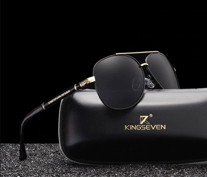 9a6ff95ad óculos de sol masculino original aviador polarizado anti uva. Carregando  zoom.
