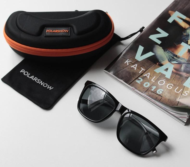 9fa2d7e61c2bf Óculos De Sol Masculino P8961 Importado Barato Polarizado - R  94