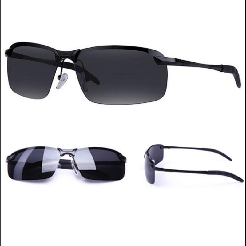fb4a34f2e óculos de sol masculino polarizado alloy alumínio/magnésio. Carregando zoom.