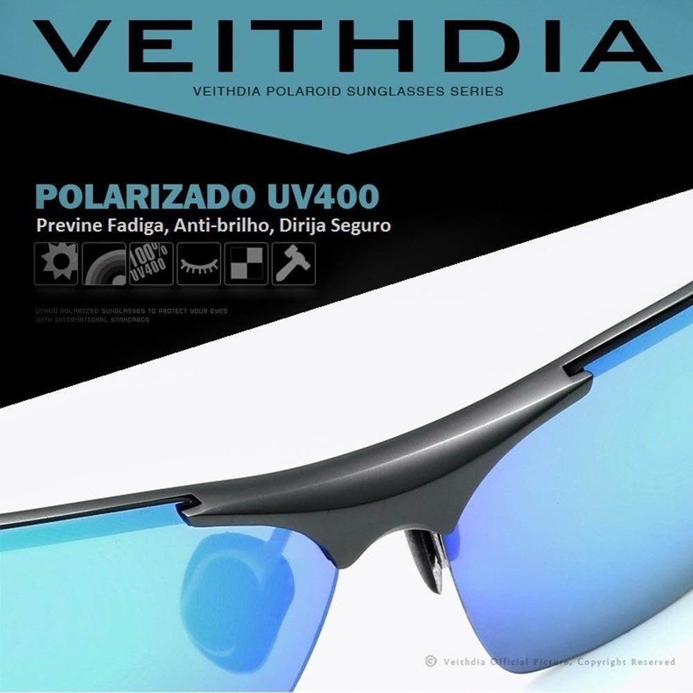 25323b5b0f152 Óculos De Sol Masculino Polarizado Com Proteção Uv Total - R  169,88 ...