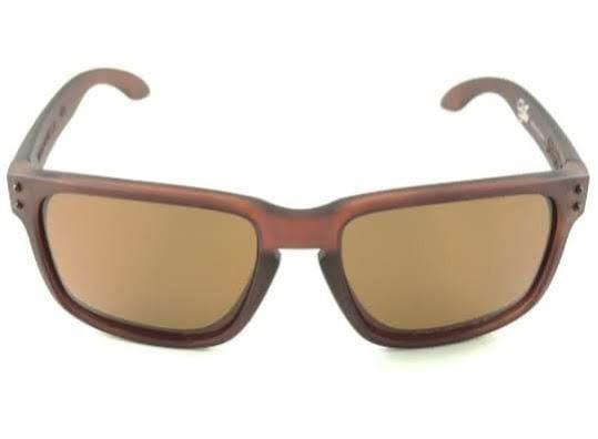 4fb29264a92e5 Óculos De Sol Masculino Polarizado Oakley Holbrook Marrom - R  79,90 ...