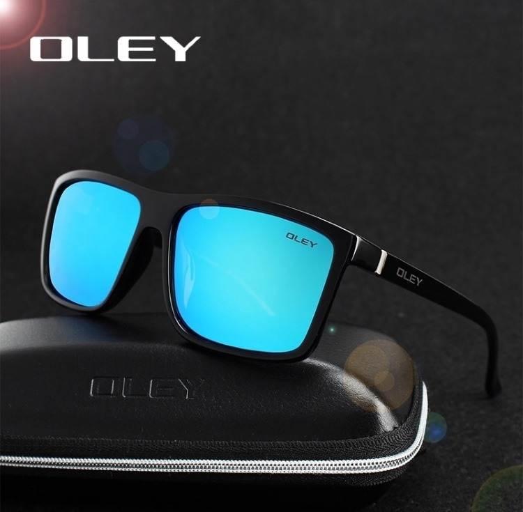 455c1f01af588 Oculos De Sol Masculino Polarizado Oley Uv400 Espelhado - R  79,00 ...