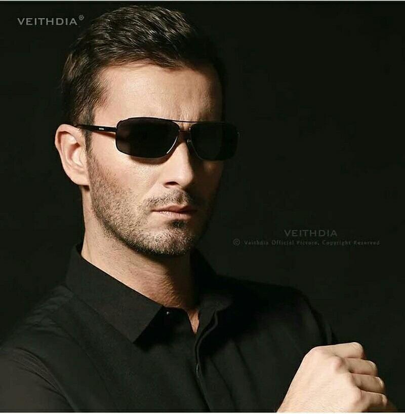 e4a8199a08b93 óculos de sol masculino polarizado proteção uv400 moda verão. Carregando  zoom.