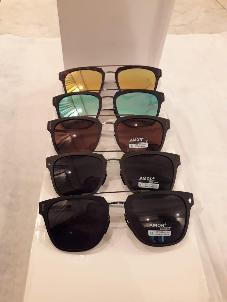 c116d265aa20b Óculos De Sol Masculino Polarizado Quadrado Amor - R  89,00 em ...