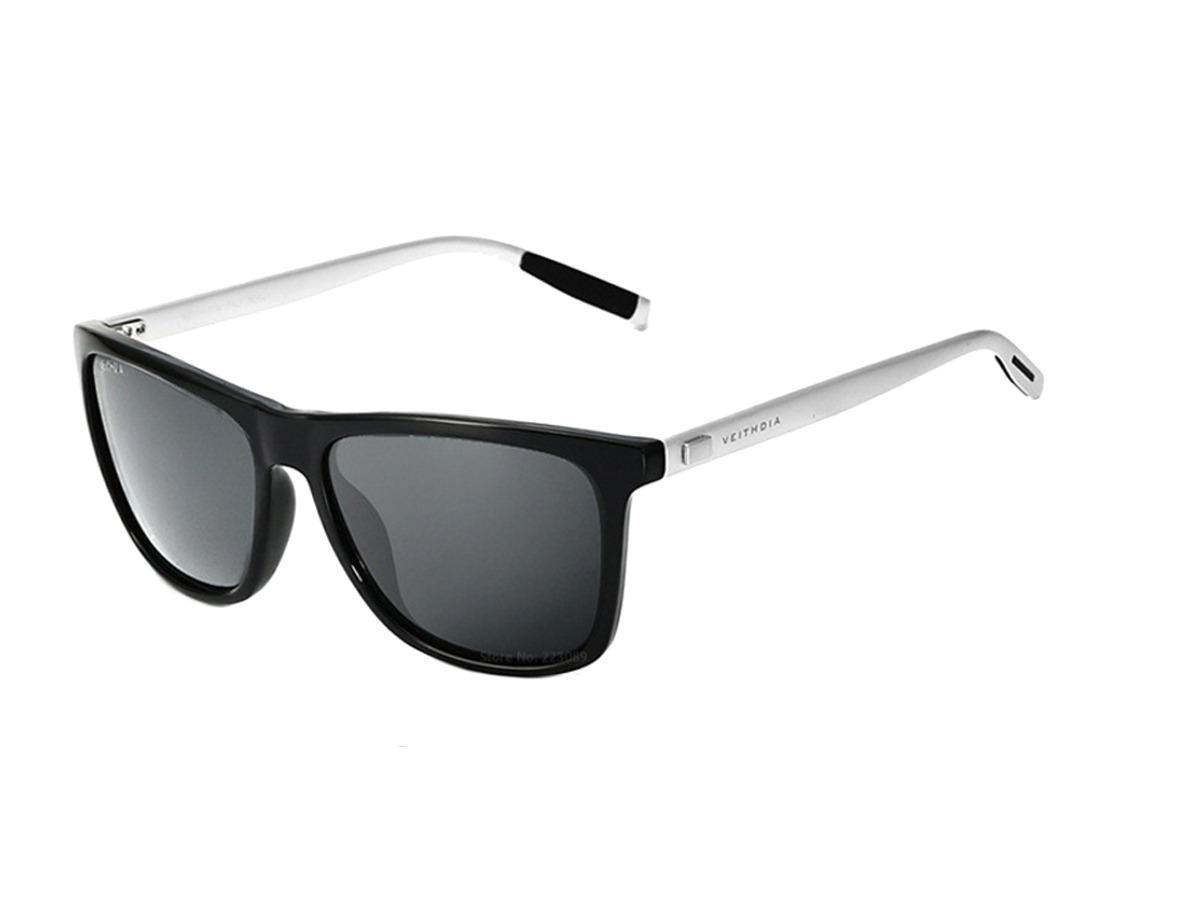 6755cfe9ea0c3 óculos de sol masculino polarizado quadrado veithdia barato. Carregando  zoom.
