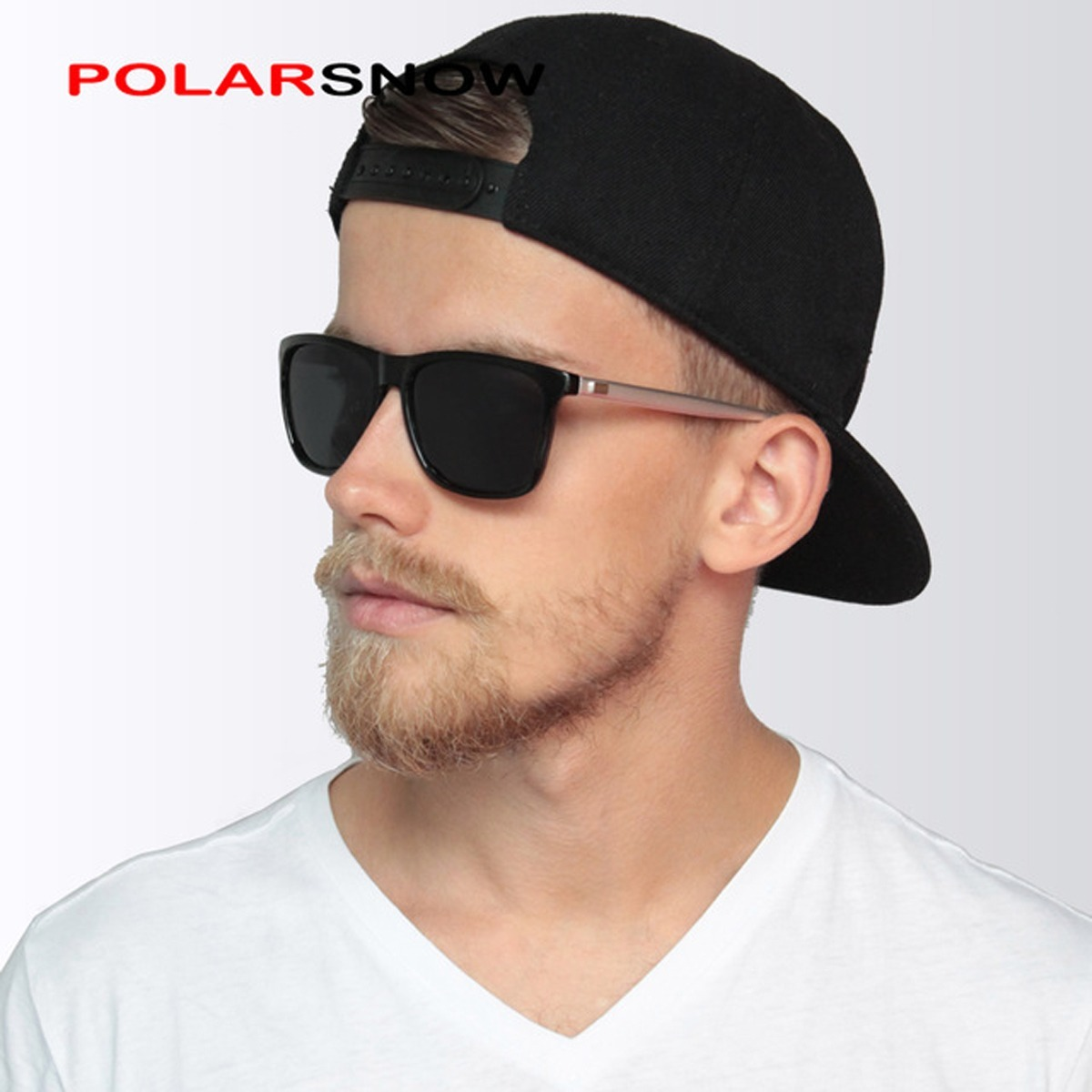 61a00ad4d óculos de sol masculino preto grande polarizado p8961 oferta. Carregando  zoom.