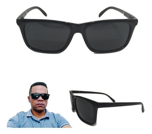 oculos de sol masculino preto polarizado original qmaximo