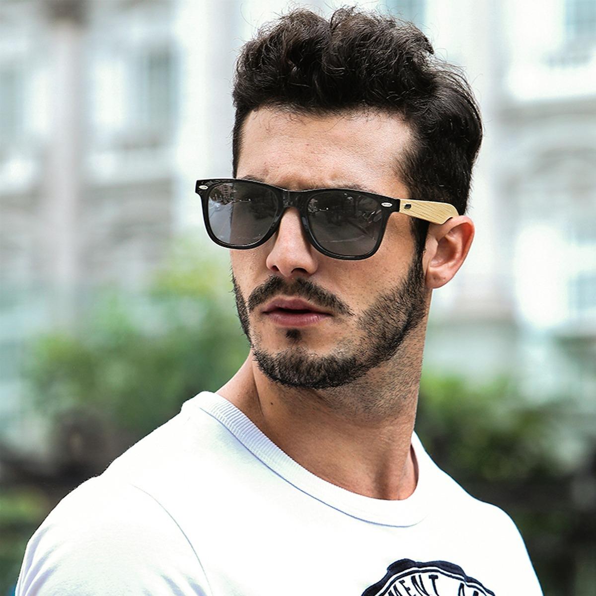 ada9ba684dc15 óculos de sol masculino proteção uv400 espelhado hd lindo. Carregando zoom.