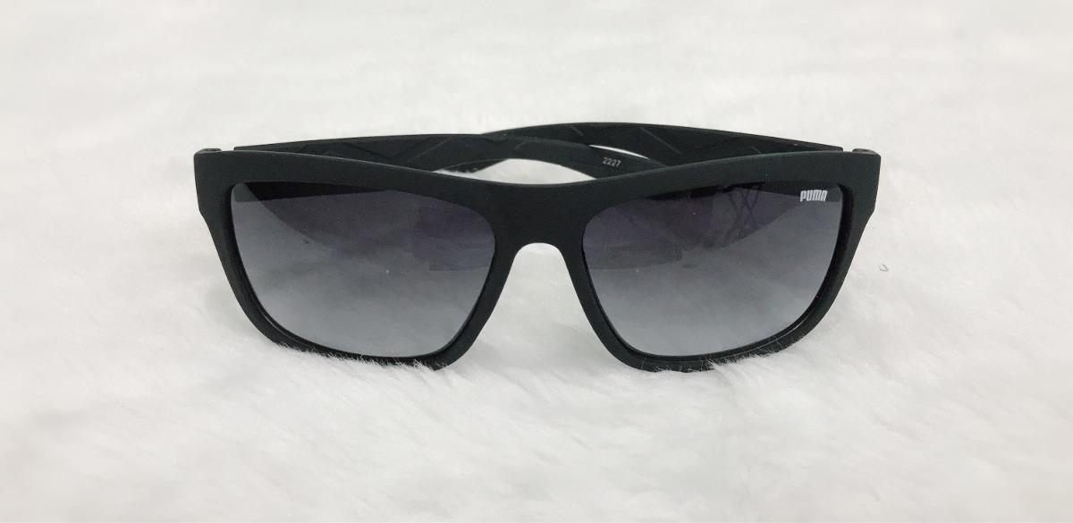 94e58495e3062 óculos de sol masculino puma quadrado preto fosco 2227. Carregando zoom.