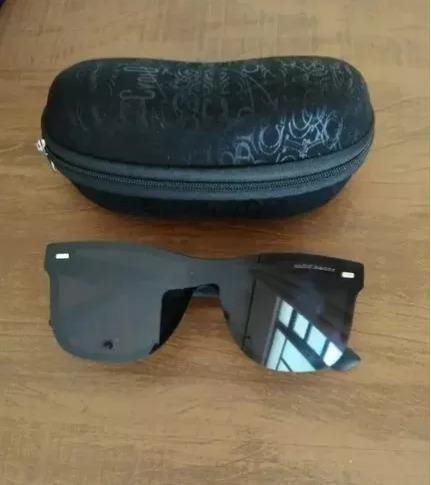 10e0b86d9 Óculos De Sol Masculino Quadrado Polarizado 2018 Chillibeans - R$ 59 ...