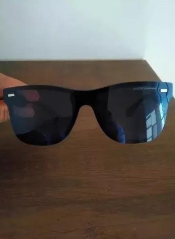 157f068737fcf Óculos De Sol Masculino Quadrado Polarizado 2018 Chillibeans - R  59 ...