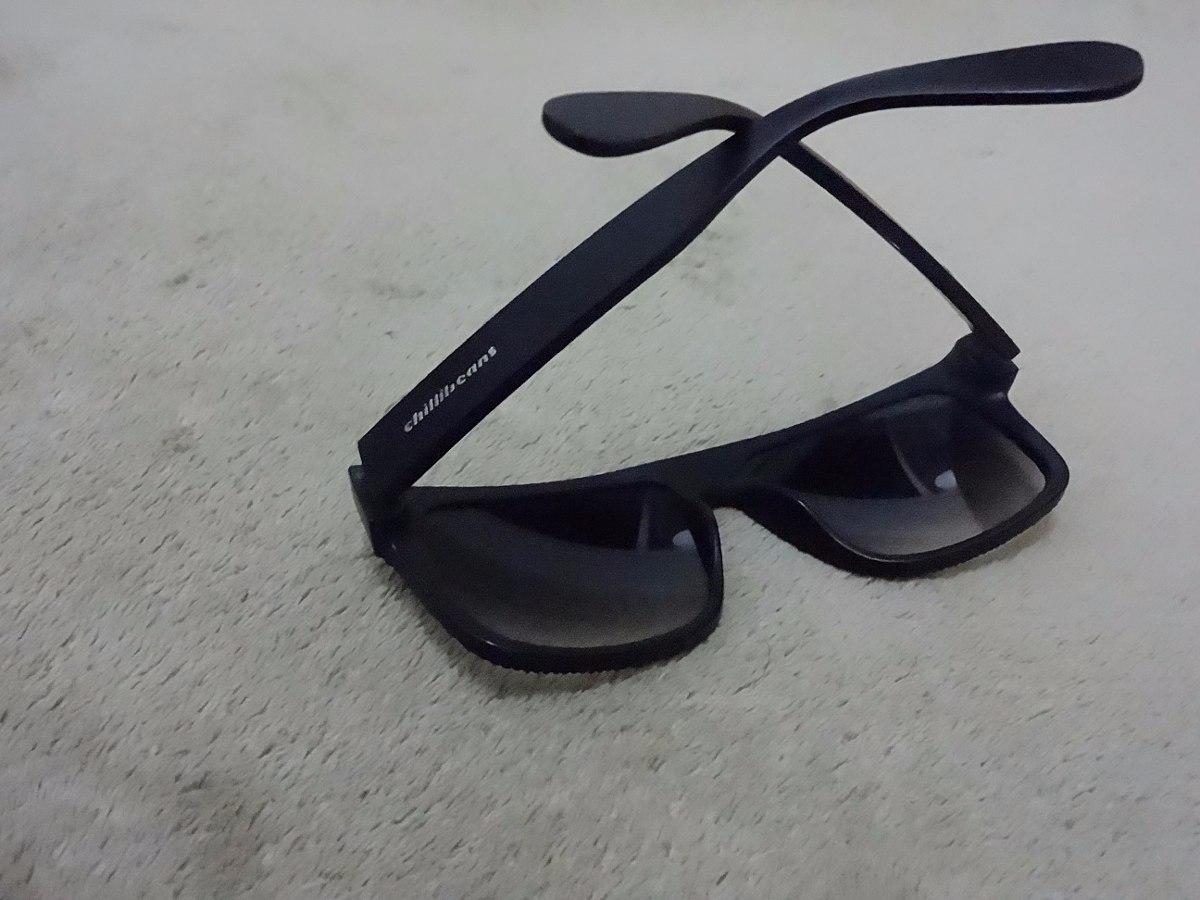 7de0997a0 Óculos De Sol Masculino Quadrado Preto Fosco Lente Degrader - R$  78,00 em Mercado Livre: