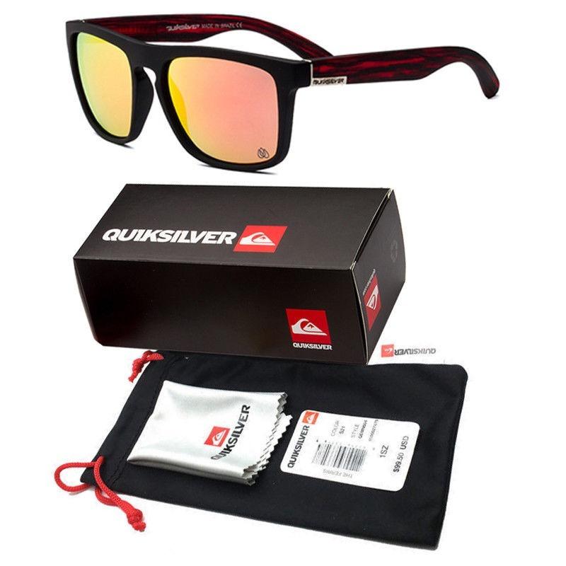 eee424c02 óculos de sol masculino quiksilver preto quadrado ferris. Carregando zoom.