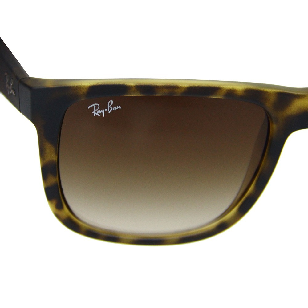 Óculos De Sol Masculino Ray Ban Justin 4165 Original - R  449,99 em ... bbbe458e78