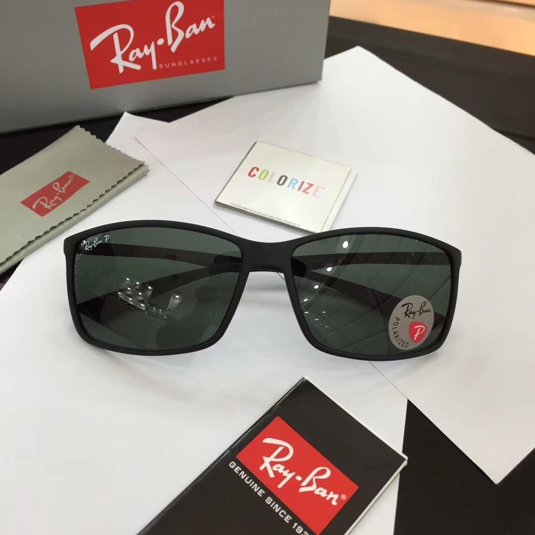 59adfec791 oculos de sol masculino ray ban polariza rb4179 polarizado. Carregando zoom.