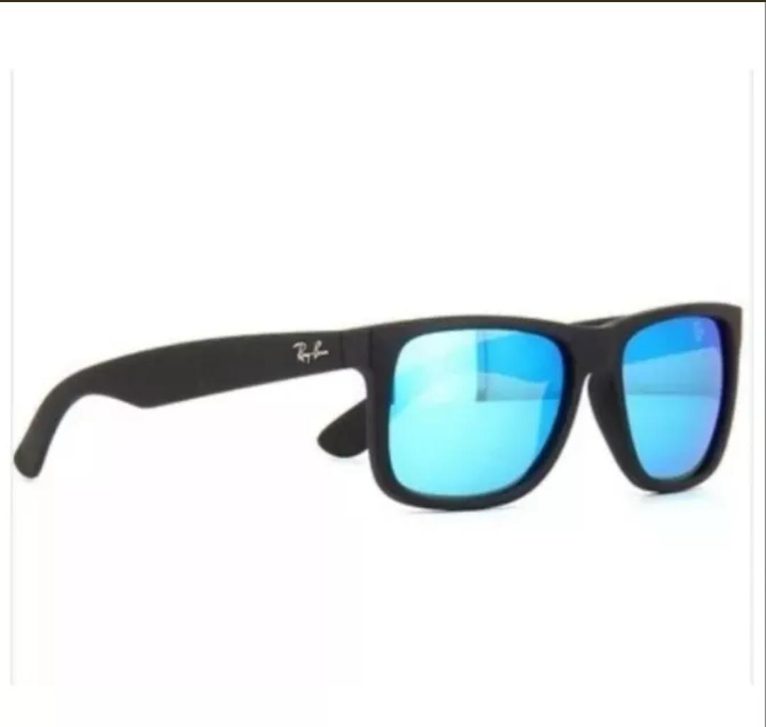 647134b8c óculos de sol masculino ray ban rb4165 justin espelhado masc. Carregando  zoom.