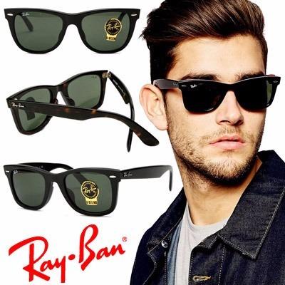 f00ed19417004 Óculos De Sol Masculino Ray-ban Wayfarer - R  399
