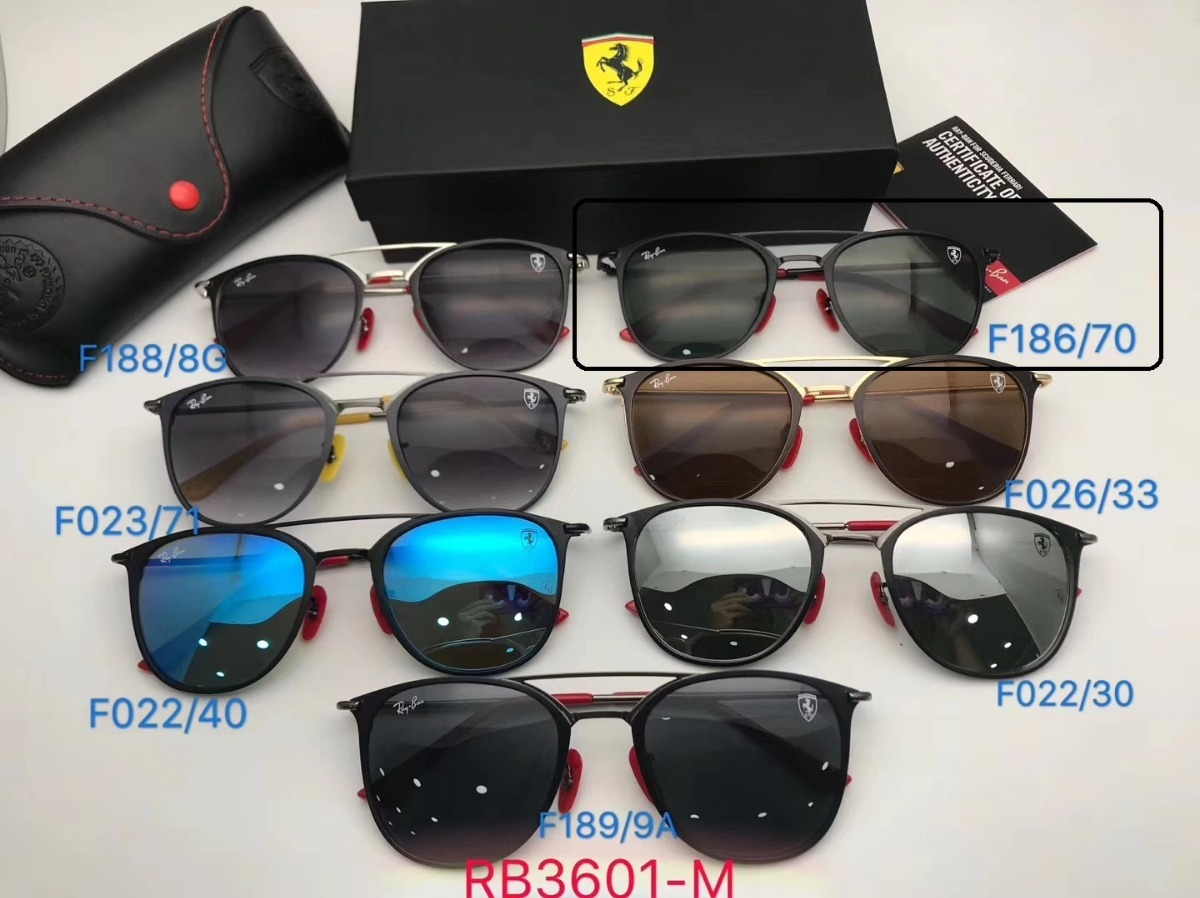 40ac53b770ecd oculos de sol masculino scuderia ferrari collection rb3601m. Carregando  zoom.