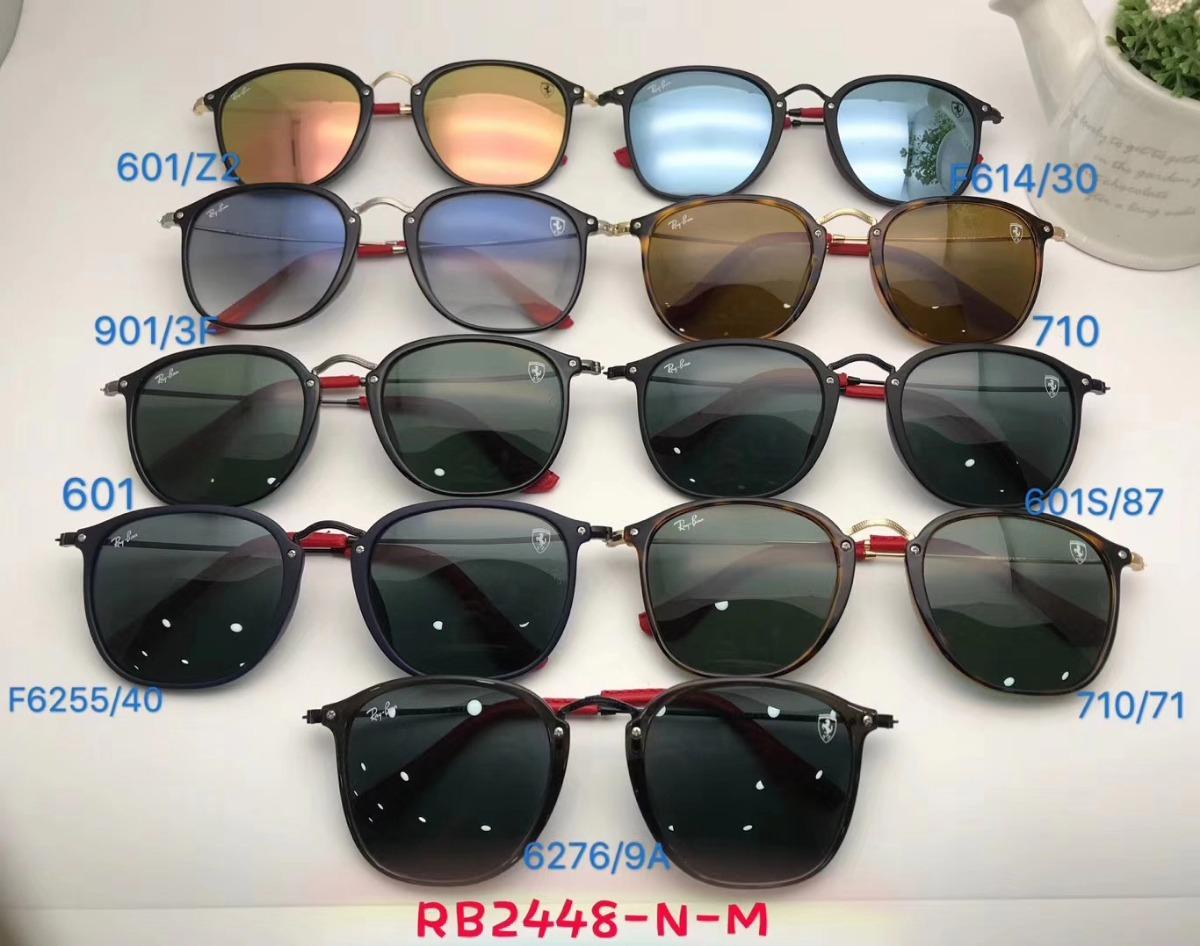 2cad6102b oculos de sol masculino scuderia ray ban ferrari rb2448 roun. Carregando  zoom.