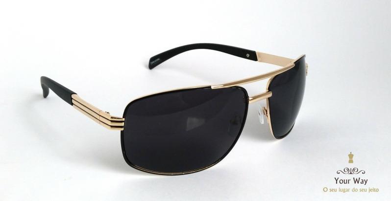 c5f2d16f847cc Óculos De Sol Masculino Spectre Polarizado Proteção Uv - R  60